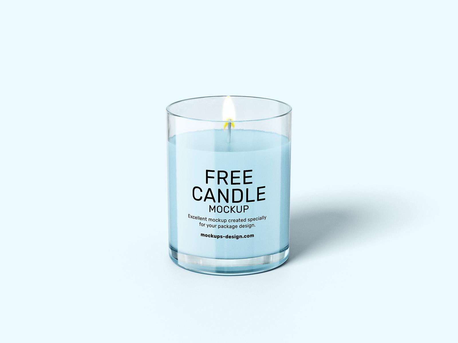 免费蜡烛模型