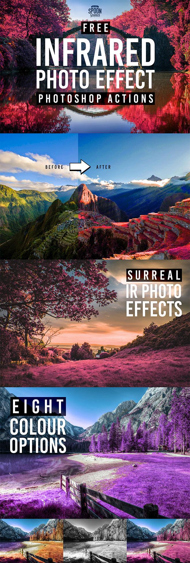 Adobe Photoshop的8种免费红外照片效果操作
