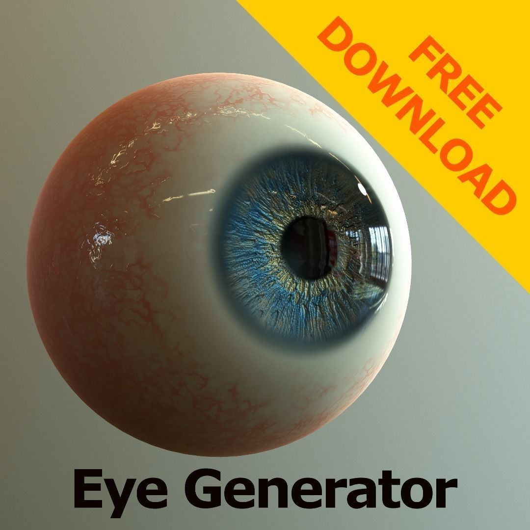 Eye Generator - Substance Designer