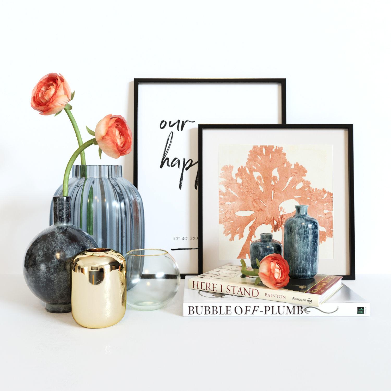 Ranunculus decorative set