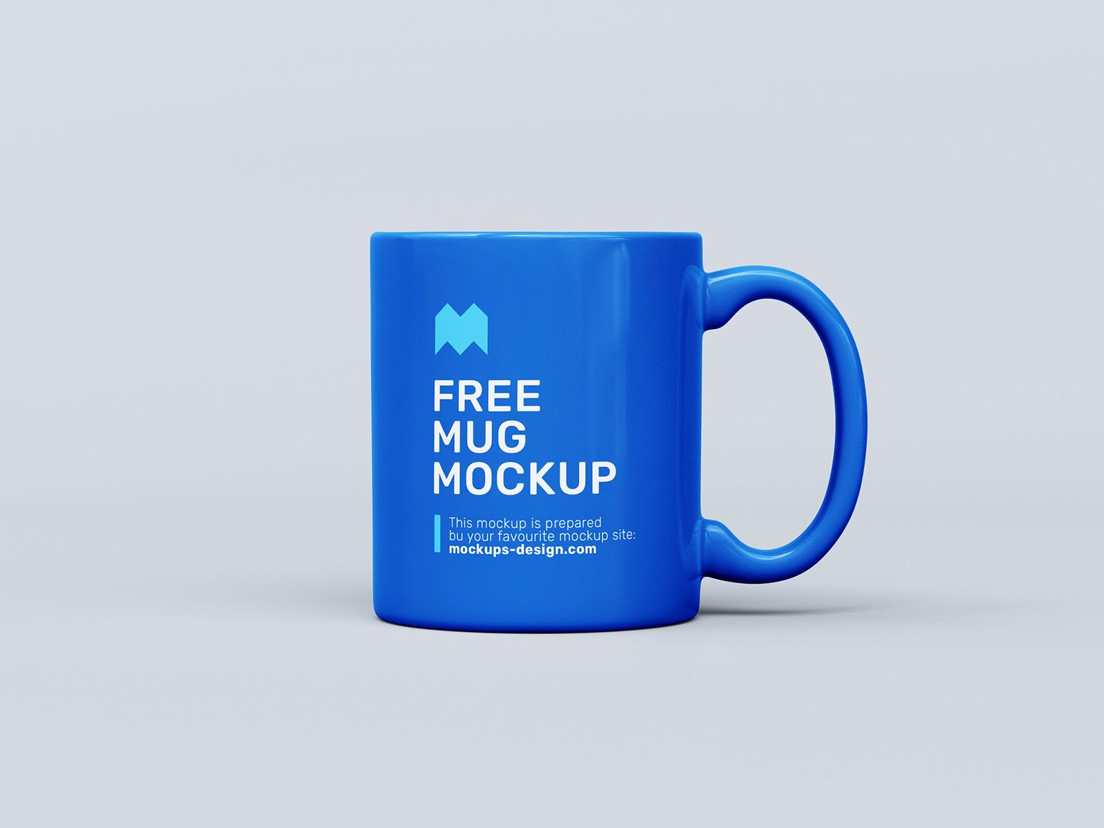 免费杯子样机